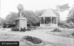 Reading, Forbury Gardens c.1890