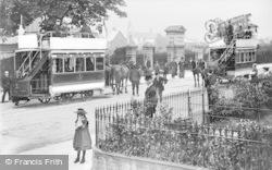 Reading, Horsedrawn Trams, Kings Road c.1890