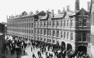 Reading, Huntley and Palmers Factory c1900