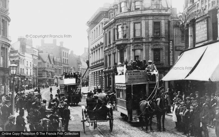 Photo of Reading, King Street c.1889