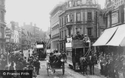 Reading, King Street c.1889