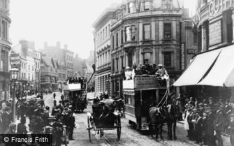 Reading, King Street c1889