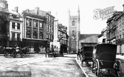Market Place c.1870, Reading