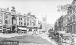 Reading, Market Place c.1898