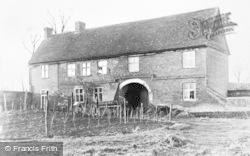 Reading, Southcote Manor Gatehouse 1921