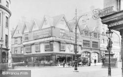 Reading, Speedwell Motor Co, Minster Street Corner c.1905