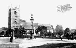 St Mary's Church 1890, Reading