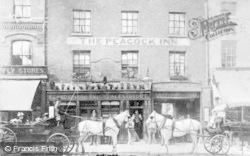 Reading, The Peacock Inn, Broad Street c.1895