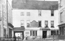 Reading, Upper Ship Hotel, Duke Street c.1880