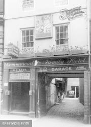 Reading, Ye Broad Face Hotel, High Street 1926