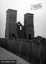 Reculver, St Mary's Church 1954