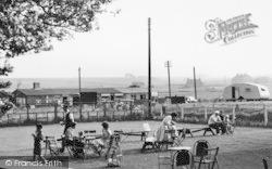 Reculver, Tea Garden c.1955