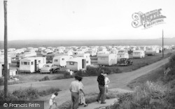 Reculver, The Municipal Camping Site c.1955