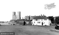 Reculver, The Tower c.1950