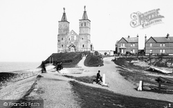 Reculver, Towers 1892