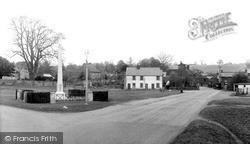 Redbourn, The Memorial And Village c.1955