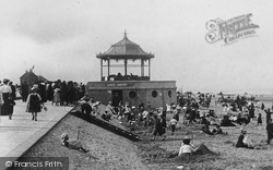 Redcar, Band Stand And Ladies Lavatory 1906