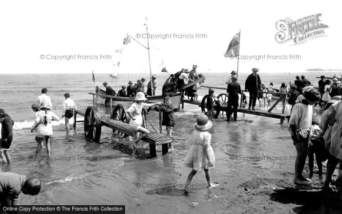 Photo of Redcar, Boats And The Beach 1924
