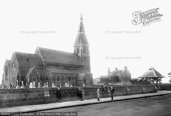 Photo of Redcar, Coatham, Christ Church 1891