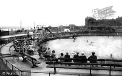 Coatham Enclosure, The Bathing Pool 1932, Redcar