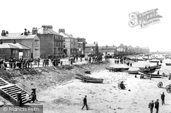 Redcar, From The Pier 1896