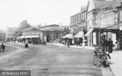 Redcar, High Street 1901