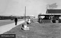 Redcar, King's Royal Cafe, Coast Road c.1955