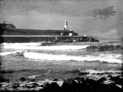 Lighthouse At River Tees Mouth 1925, Redcar