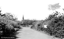 Locke Park c.1955, Redcar