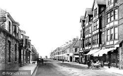 Redcar, Newcomen Street 1891