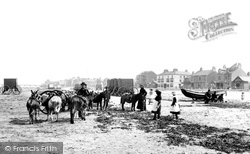Redcar, On The Sands 1886