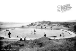 Redcar, Paddling Pool 1924