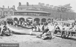 Redcar, The Bandstand 1923