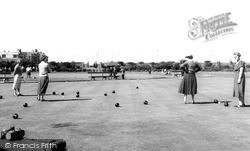 Redcar, The Bowling Green c.1960