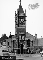 Redcar, The Clock Tower c.1960