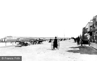 Redcar, the Esplanade 1886