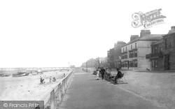 The Esplanade c.1885, Redcar