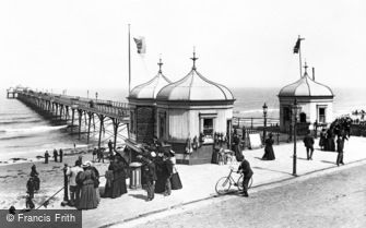 Redcar, the Pier 1896