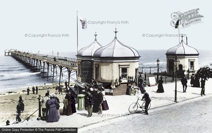 Photo of Redcar, The Pier 1896