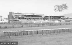 Redcar, The Racecourse, Grandstand c.1965
