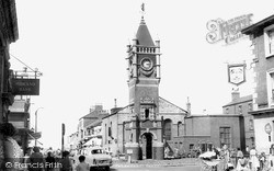 The Town Clock c.1960, Redcar