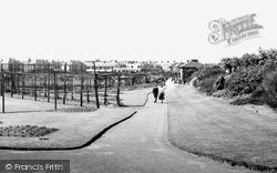 Zetland Park c.1955, Redcar