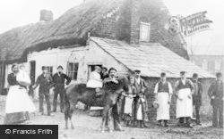 Reddish, The Thatched Tavern c.1880