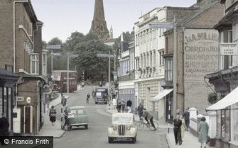 Redditch, Alcester Street c1955
