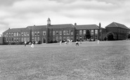 Redditch, County High School and Playing Fields c1950