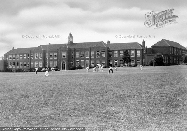 Photo of Redditch, County High School and Playing Fields c1950