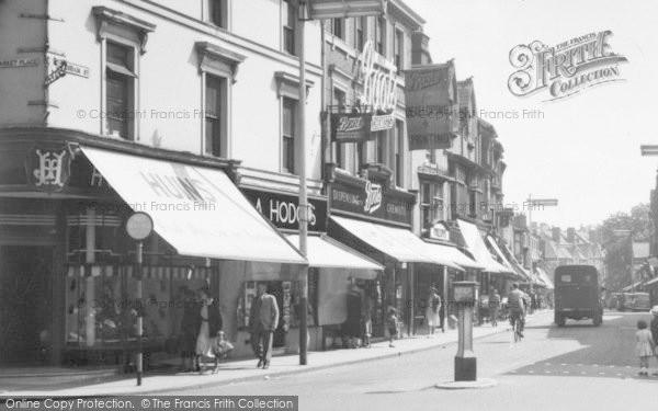 Street Shops 1955 Evesham C Redditch Of Photo vtaqTTB