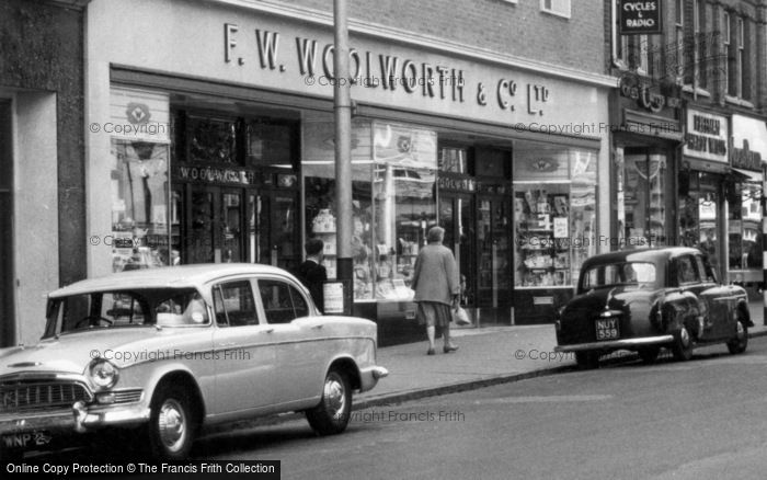 Photo of Redditch, Woolworth's, the Market Place c1960