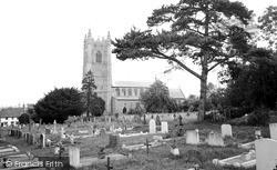 Redenhall, St Mary's Church c.1955