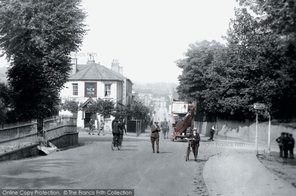 Photo of Redhill, Brighton Road 1915